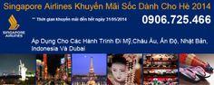 Singapore Airlines Khuyến Mãi Sốc Dành Cho Hè 2014, Chi tiết tại: http://vlink.vn/khuyen-mai/singapore-airlines-khuyen-mai-soc-danh-cho-he-2014.html