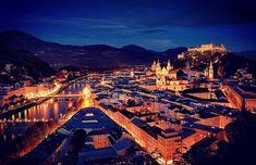 Good Night🌚🌙 . .  #Salzburg #Salzburg#linz #graz #munchen #zellamsee #hallstatt #altstadt  #sanktjohann #europe #deutschland  #photography #model #tbt #fest #october #girl #urlaub #frau #servus #morgen #redbull #tirol #travel #holiday #City #munchen Photo: @landscape__navigator 📸 Salzburg, Zell Am See, Hallstatt, Paris Skyline, To Go, Travel, Linz, Acre, Germany