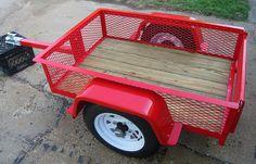ATV trailer. tandem/walking axles   offroad camping in ...