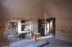 Abandoned: The villages have been abandoned over the years by their residents, and this is...