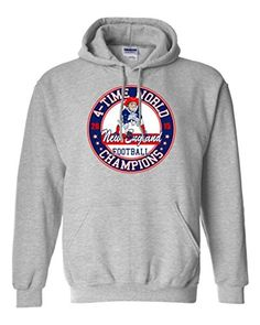 New 4-Time World Champion New England Football DT Sweatshirt Hoodie:   New 4-Time World Champion New England Football Sweatshirt Hoodie, high quality shirt only from City Shirts