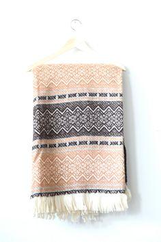 Amana Blanket by MidNorthMerc on Etsy, $65.00