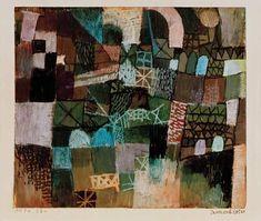 Paul Klee - Innenarchitektur, 1914.