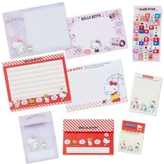 Hello Kitty Volume Letter Set Limited Edition Sanrio Japan Kawai Goods