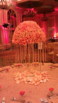 wedding center peices