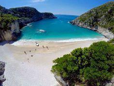 Visit Albania - Vlore Gjiri I Gramses Albania Beach, Visit Albania, Albania Travel, Cool Places To Visit, Places To Go, Heaven On Earth, Travel Destinations, Water, Photography