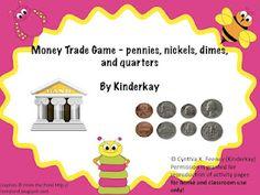 Money Trade Game for K-2