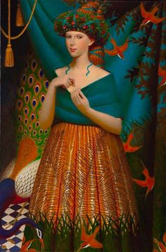 """Bagatel"", 2011 Andrey Remnev Oil on canvas."