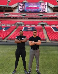 In less than 12-hours Anthony Joshua will battle Wladimir Klitschko; Here's all you need to know about the fight http://ift.tt/2pfmilr