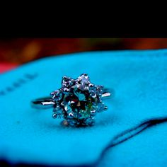 My beautiful vintage engagement ring!