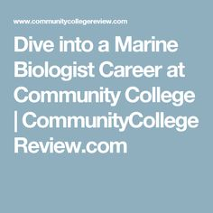 Us Schools Offering Marine Biology Degrees  MarinebioOrg