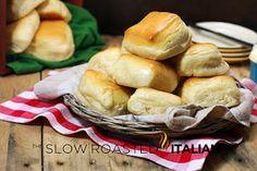 Las lentas asados italianos - Recetas imprimibles: Copycat Texas Roadhouse Panecillos