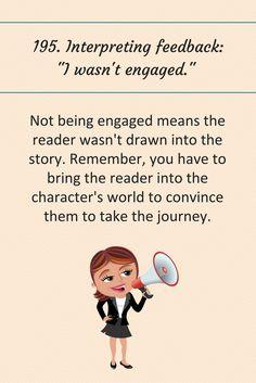 """195: Interpreting feedback: """"I wasn't engaged."""""""