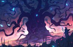 Damian Handzlik - Giant tree