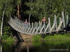 Parc national d'Oulanka à Kuusamo en Laponie en Finlande. Pour plus d'information: www.laponie.fi