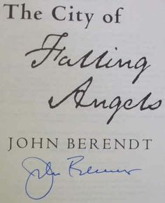 John Berendt's Signature
