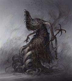 Shadow Creatures, Dark Creatures, Fantasy Creatures, Shadow Monster, Monster Art, Arte Horror, Horror Art, Creepy Horror, Creature Concept Art
