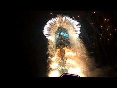 Taipei 101 firework 2012