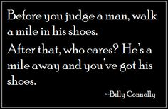 On Judging Others - Eat. Sleep. Be.