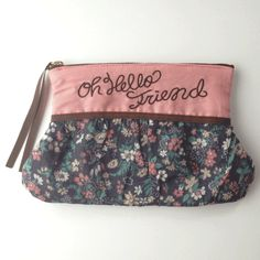 Cosmetic pouch pink  http://bonony.thebase.in