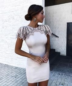 Cheap runway dress, Buy Quality bandage dress directly from China party dresses Suppliers: Adyce Fashion Bandage Dress 2018 Women Celebrity Evening Party Dresses Vestidos Sexy Beads Embellished Mini Runway Dress White Bandage Dress, White Dress, Bodycon Dress, Dress Black, Club Dresses, Short Dresses, Formal Dresses, Party Dresses, Dress Party
