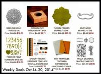 New fabulous Weekly Deals from Stampin' Up! www.inkandinspirations.com