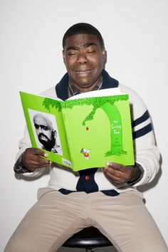 I look like this when I'm reading The Giving Tree.