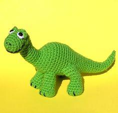 PDF Crochet pattern BABY BRONTOSAURUS by bvoe668 on Etsy