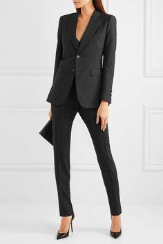 Saint Laurent | Wool-gabardine blazer | NET-A-PORTER.COM