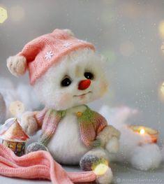 Купить Снеговик валяный в интернет магазине на Ярмарке Мастеров