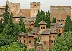 The Alhambra in Granada, Andalucia. LOVE Spain!