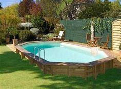 Image Search Results for semi inground pools