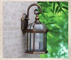 特价户外欧式花园庭院灯防水阳台室外灯别墅外墙挂壁装饰灯具