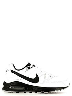 a0ab8afe1d2e Nike Air Max Command Leather - Chaussures de Sport, Homme, Blanc  (White/Black-Black-Wolf Grey), Taille 40.5: Amazon.fr: Chaussures et Sacs