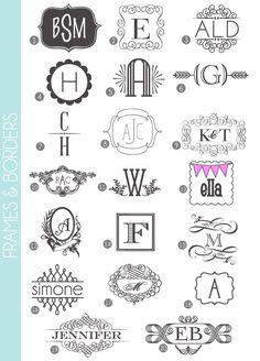 チェック! アンティークロゴがお手軽に作れる装飾系フォント20種類。 - Free-Style