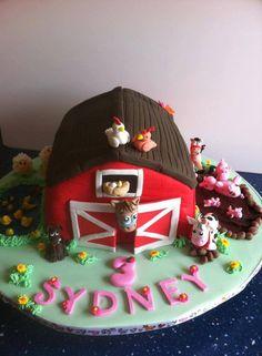 Barnyard cake - *