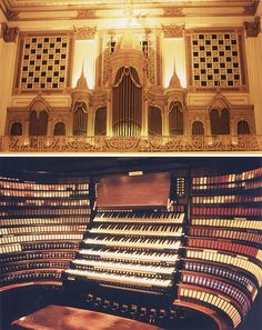 THe Grand Organ @ John Wanamaker's (now Macy's) in Philadephia PA. At one point the largest in the world. http://www.wanamakerorgan.com/about.php