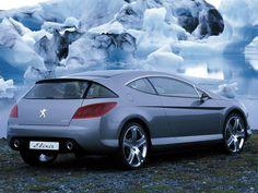 Peugeot 407 Elixir Concept '2003
