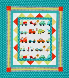 Quilts for Kids | AllPeopleQuilt.com Traffic Jam Wall Hanging