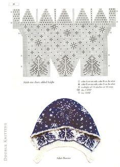 【转载】Double Knitting Reversible Two-Color Designs 双面针织:可逆的双色设计 - 暖儿的日志 - 网易博客