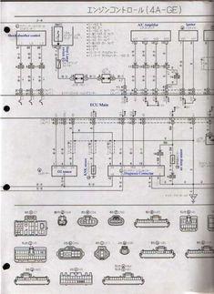 18+ Toyota 4Age Engine Wiring Diagram - Engine Diagram - Wiringg.net Transfer Switch, Electrical Wiring Diagram, Toyota Corolla, Engineering, Wire, Dan, Black, Autos, Black People