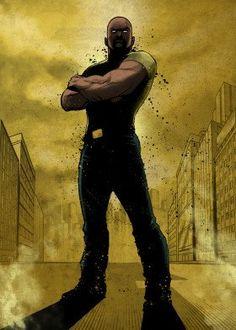 Marvel Comic Character, Marvel Comic Books, Comic Book Characters, Marvel Characters, Marvel Comics, Poster Marvel, Marvel Art, Luke Cage Marvel, Black Widow Natasha