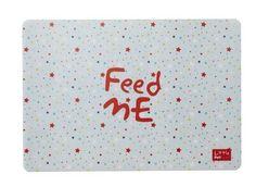 Akcesoria dla Kotów http://www.petstation.pl/podkladka-feed-me-w-kolorowe-gwiazdki-little-petface.html