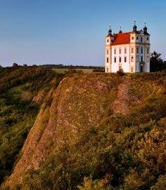The chapel of St.Florian at Moravský Krumlov (South Moravia), Czechia Prague Czech Republic, Sacred Architecture, Bosnia, Eastern Europe, Pilgrimage, Montenegro, Croatia, To Go, Country Roads