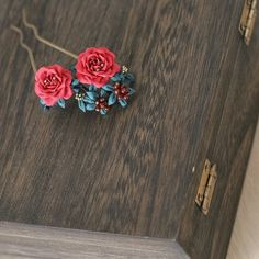 Rose Earrings, Stud Earrings, Kanzashi Flowers, Fabric Flowers, Ribbon Flower, Paper Quilling, Fashion Fabric, Handmade Flowers, Hair Pins