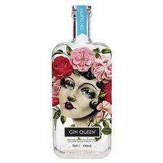 Gin Queen - Edinburgh Gin Bottles, Alcohol Bottles, Vodka Bottle, Cocktail Drinks, Fun Drinks, Cocktails, Mojito, Le Gin, London Gin