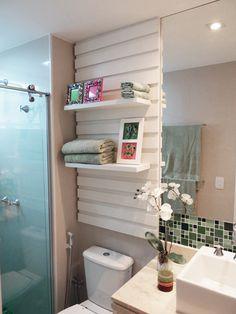 Banheiros criativos e compactos | Revista Casa Linda