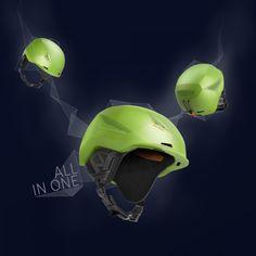 Salewa Vert_ski helmet_comunication