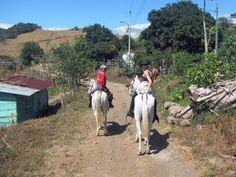 Horseback Riding Through Villages in Costa Rica #costarica | monteverdetours.com