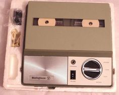 Vintage Westinghouse TMR8040A Olive Green Reel Portable Tape Recorder Player GC #Westinghouse